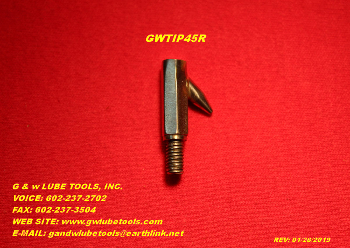 GW Tips - G And W Lube Tool, Inc , Laveen, AZ